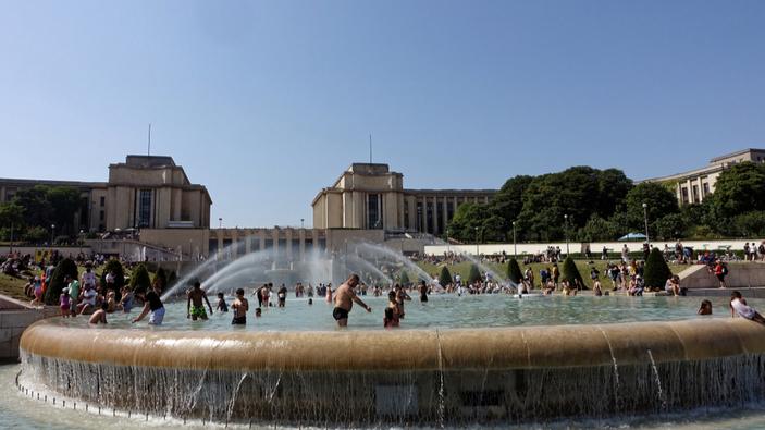 Un'imponente ondata di caldo travolge l'Europa
