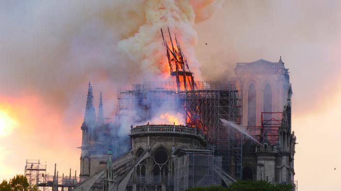 Les retombées toxiques de Notre-Dame