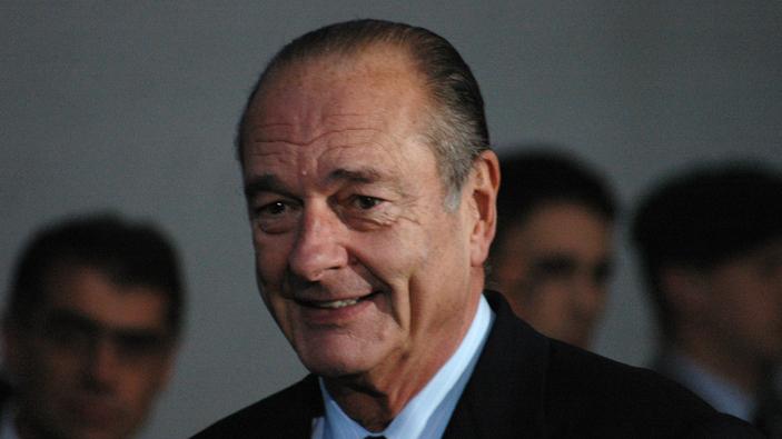 La France pleure Chirac