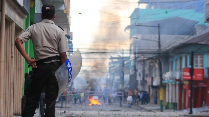 """Dos semanas de protestas contra el """"paquetazo"""" en Ecuador"""