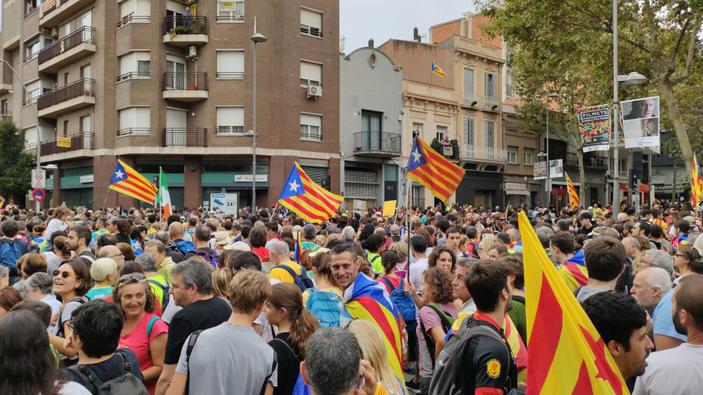 En Catalogne, violences et tensions après un verdict historique