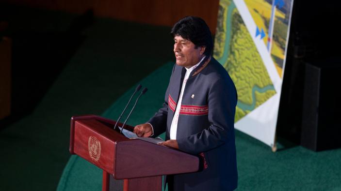 Evo Morales busca su cuarto mandato