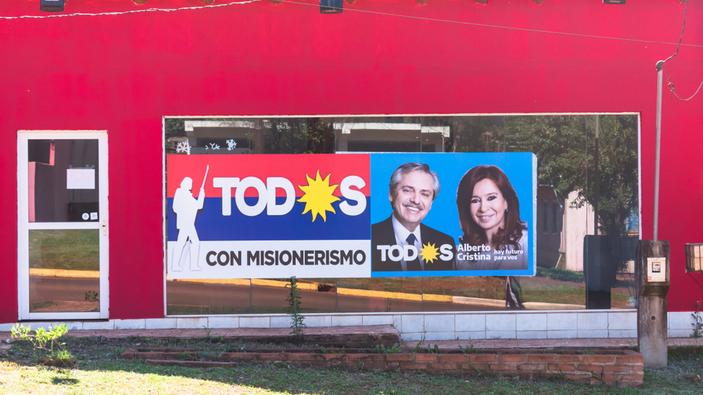 Alberto Fernández vence en las elecciones en Argentina