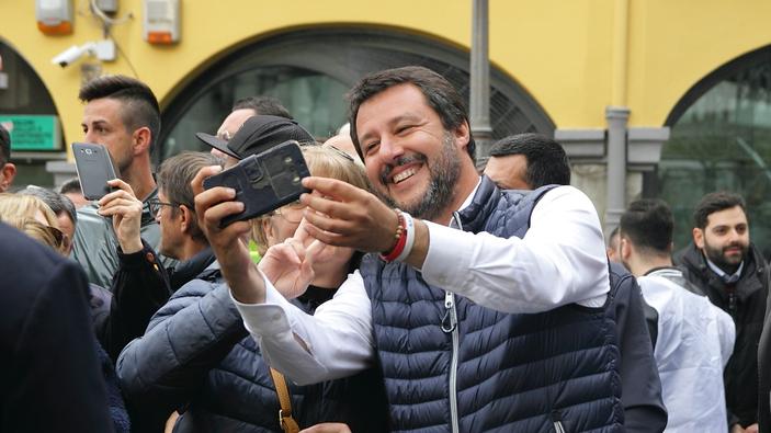 Salvini conquista l'Umbria