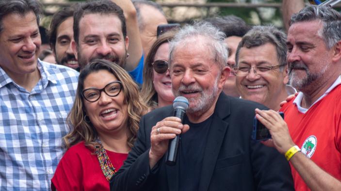Lula da Silva sale de la cárcel
