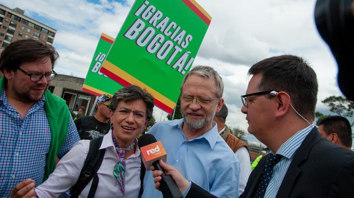 Claudia López, nueva alcaldesa de Bogotá