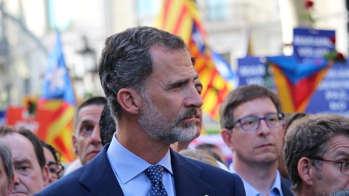 La visita del Rey a Cataluña enciende los ánimos de los independentistas