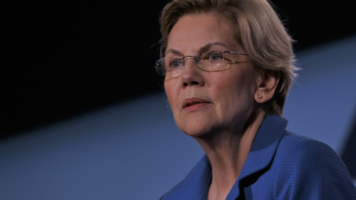 Elizabeth Warren planta combate a Facebook