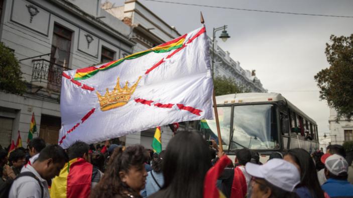 La Bolivie s'enfonce dans une crise institutionnelle