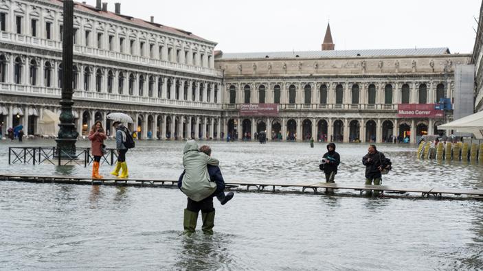 Venecia, bajo el agua