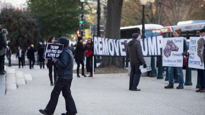 Les audiences publiques liées à la procédure de destitution du président Trump ont débuté