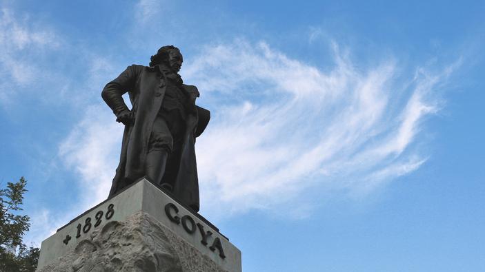 Autorretrato de Goya viaja a Cuba
