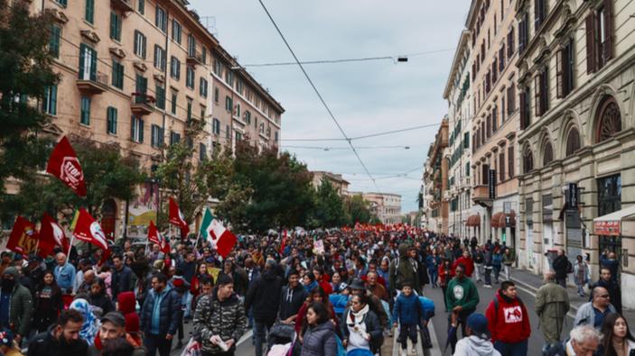 """il movimento anti-Lega delle """"Sardine"""" spopola in Italia"""