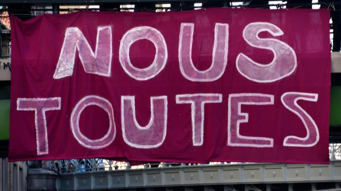 Grandes manifestaciones en toda Francia contra la violencia doméstica, y nuevas medidas anunciadas