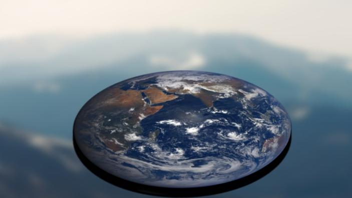 La teoría conspiratoria de la Tierra plana, vivita y coleando