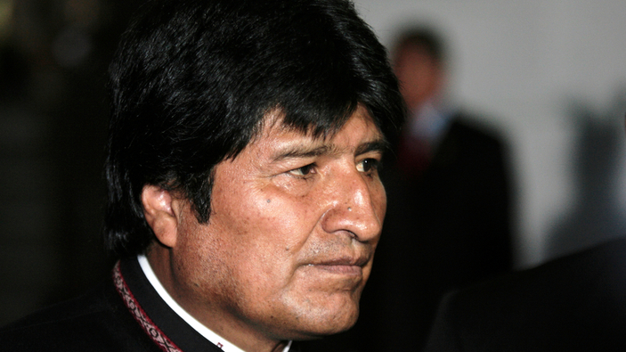 Morales, acusado de sedición, no se presentará a elecciones