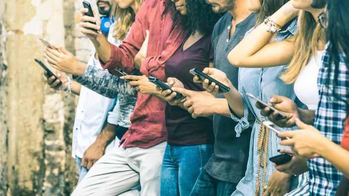 Una investigación sobre la adicción a los teléfonos celulares