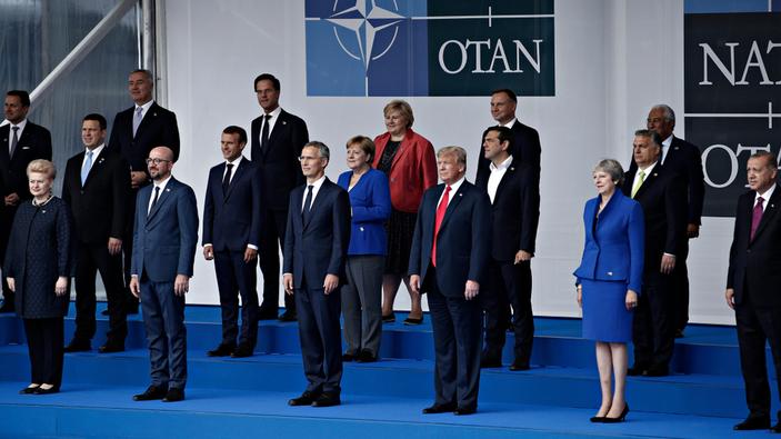 Trump, ridiculizado en la Cumbre de la OTAN