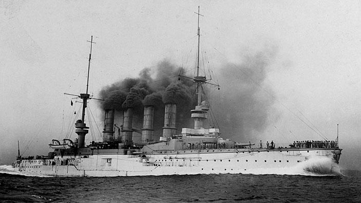 Hallan navío alemán hundido en la Primera Guerra Mundial