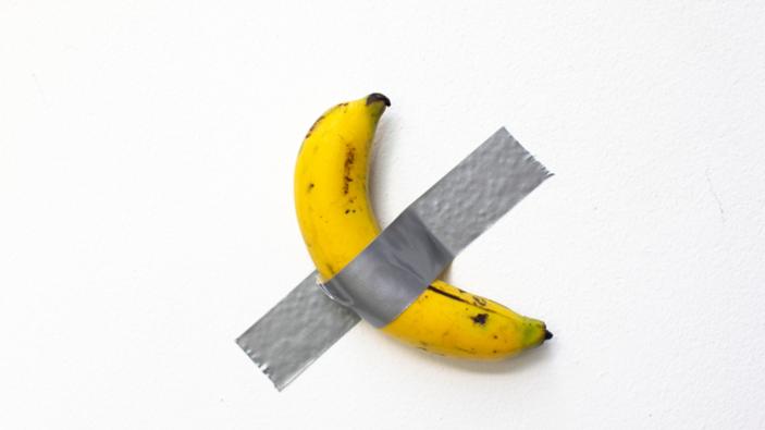 Une banane, nouvelle référence de l'art contemporain ?