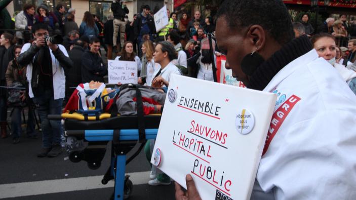 Les hôpitaux français en crise