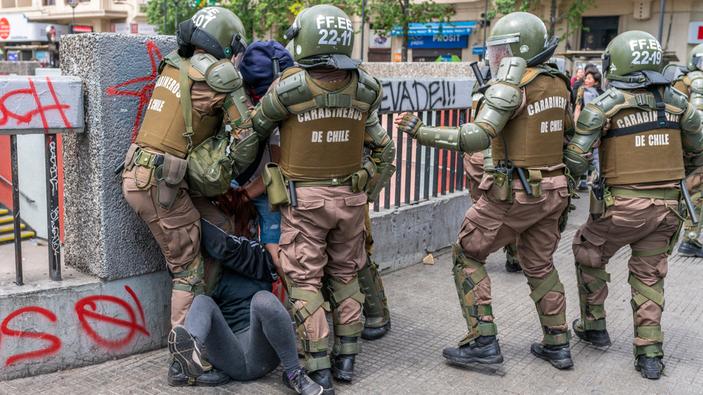 ONU denuncia violación de derechos humanos en Chile