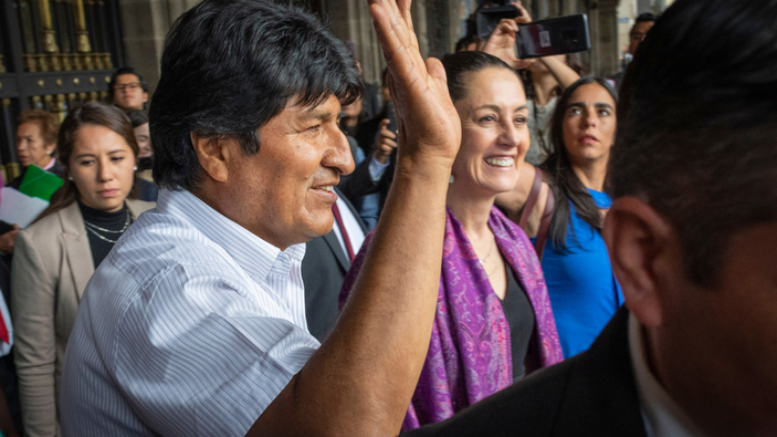 Evo Morales se traslada a Argentina