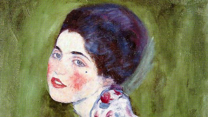 """Ritrovato il """"Ritratto di Signora"""" di Gustav Klimt"""
