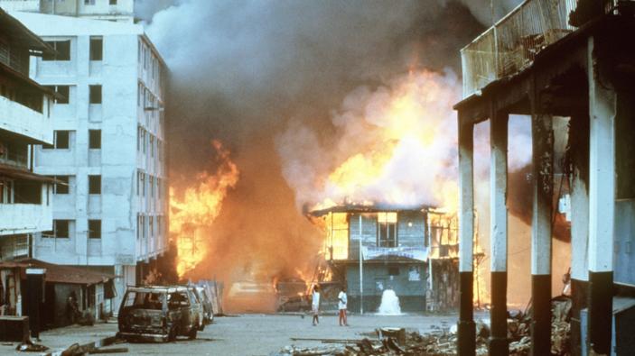 Se cumplen 30 años de la invasión de Panamá