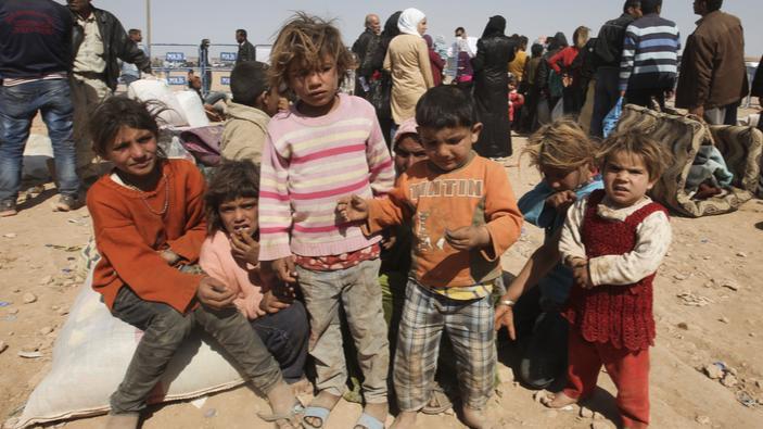 Die Grünen fordern die Aufnahme von 4.000 Flüchtlingskindern