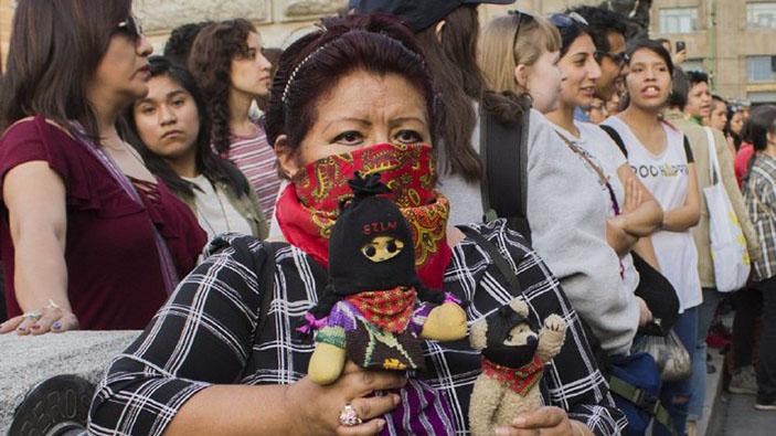 Un encuentro de feministas y zapatistas en Chiapas