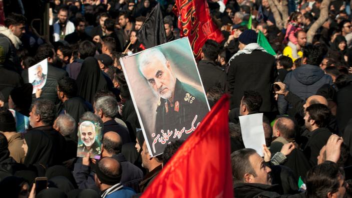 Sale la tensione in Medio Oriente dopo l'uccisione del generale iraniano Qassem Soleimani