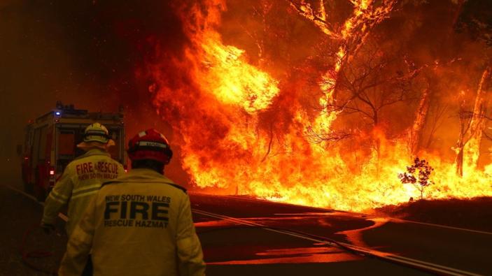 El humo de los incendios en Australia llega a Sudamérica