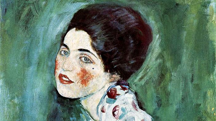 Un cuadro encontrado el mes pasado, autenticado como un Klimt robado
