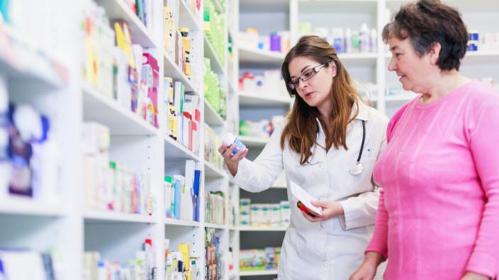 La baisse des ventes de médicaments sans ordonnance continue