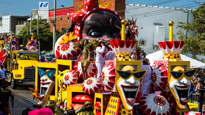 Los curiosos disfraces del Carnaval de Barranquilla
