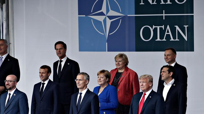 Meinungsumfrage zur NATO unter Deutschen und Amerikanern