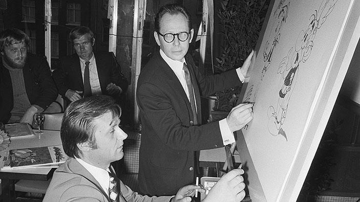 Disparition du dessinateur Albert Uderzo, créateur d'Astérix