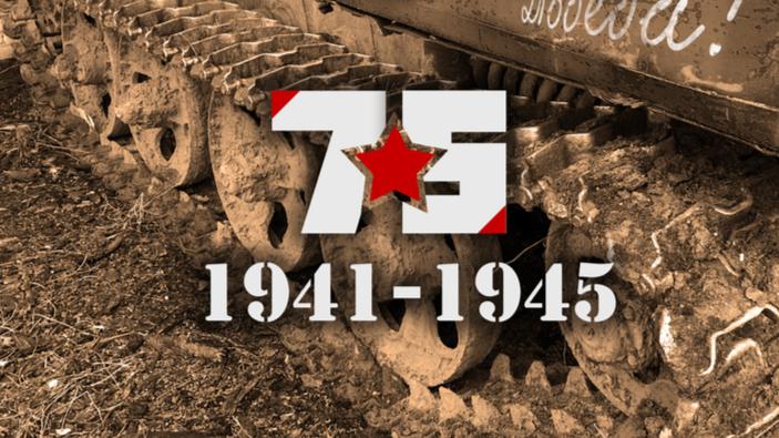 75. Jahrestag des Endes des Zweiten Weltkriegs in Europa