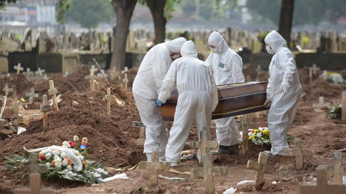 Brasil supera a España e Italia en casos de coronavirus