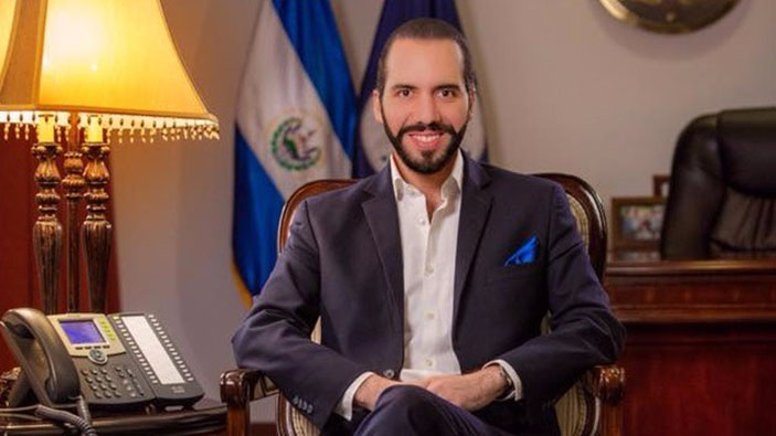 El Salvadors Präsident nimmt Hydroxychloroquin