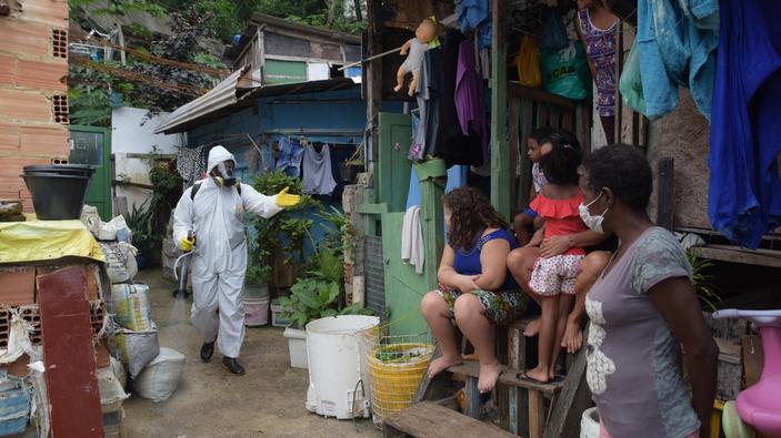 Brasil ya es el cuarto país con más muertos por coronavirus