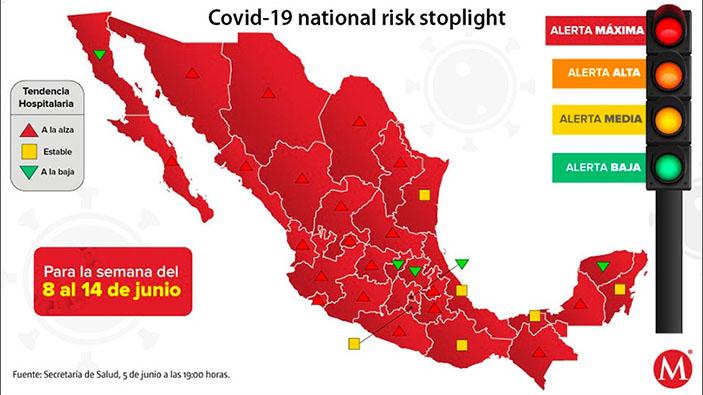 México en alerta máxima por coronavirus