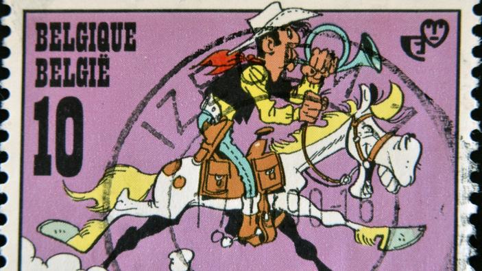 Un cow-boy dans le coton, le nouvel album de Lucky Luke