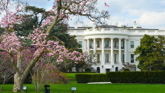 La Casa Bianca come un palcoscenico