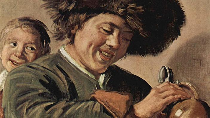 """""""Due ragazzi che ridono"""", una nota opera d'arte rubata per la terza volta"""