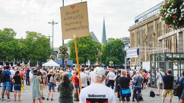 Verbot einer Anti-Corona-Demonstration in Berlin – falsche Entscheidung?