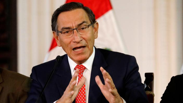 Presidente peruano enfrenta proceso de destitución