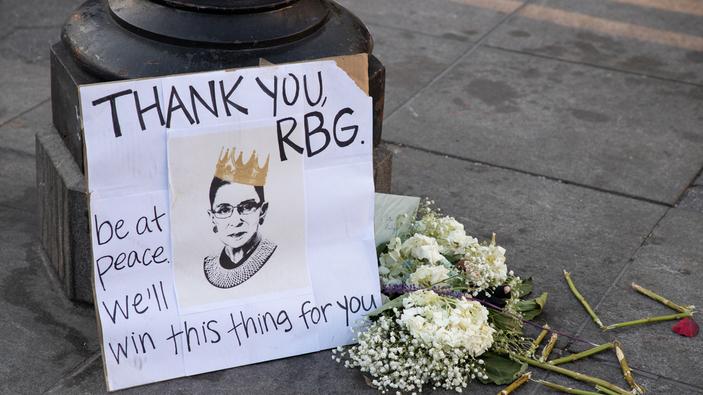 Grazie, Ruth Bader Ginsburg
