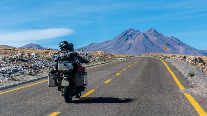 Ewan McGregor recorre Latinoamérica en moto